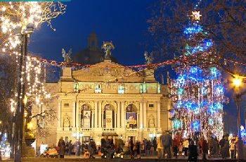 Во Львове открылась красочная Рождественская ярмарка - Цензор.НЕТ 2204