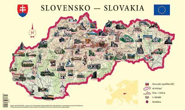 Карта словаччини